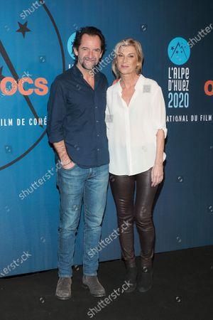 Stephane De Groodt and Michele Laroque