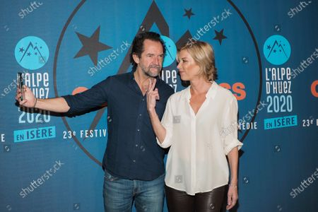 Editorial photo of 23rd International Comedy Film Festival, Day 2, Alpe d'Huez, France - 15 Jan 2020
