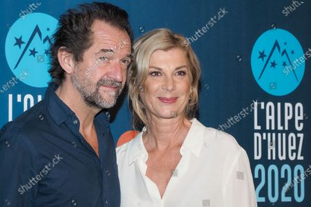 Stock Image of Stephane De Groodt and Michele Laroque