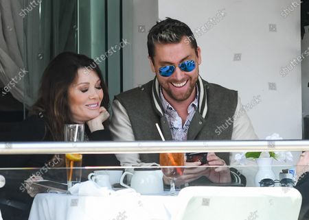 Lisa Vanderpump-Todd and Lance Bass have lunch in Beverly Hills
