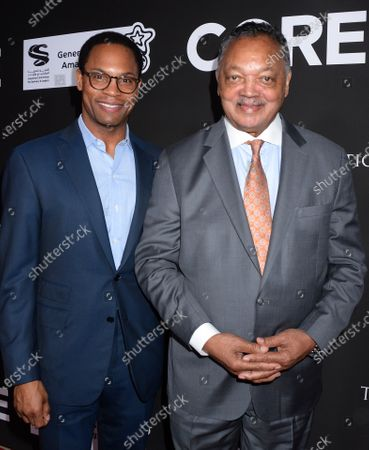 Reverend Jesse Jackson and son
