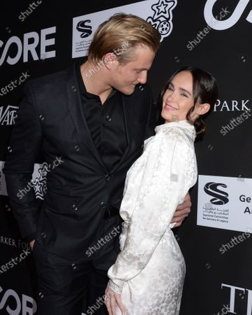 Alexander Ludwig and girlfriend Kristy Dawn Dinsmore