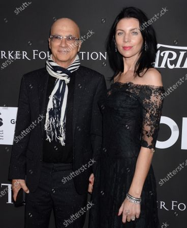 Jimmy Iovine and wife Liberty Ross