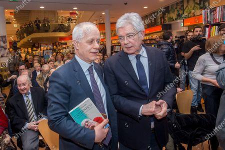 Luciano Fontana and Claudio Martelli