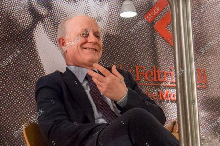 Editorial picture of Claudio Martelli 'L' antipatico. Bettino Craxi e la grande coalizione' book presentation, Feltrinelli, Milan, Italy - 15 Jan 2020
