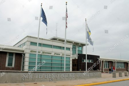 Stock Photo of The South Bend, Ind., police station is seen in this, photo. When Pete Buttigieg got rid of South Bend's black police chief Darryl Boykins, it set off a flurry of anger in the Indiana city. Eight years later, the move still shadows his presidential campaign, giving rise to complaints he has a blind spot on race and raising questions about whether he can attract the support of African Americans who are crucial to earning the Democratic nomination