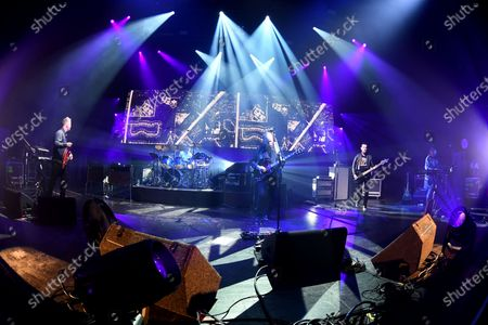 Editorial picture of New Order in concert at The Fillmore, Miami Beach, USA - 15 Jan 2020