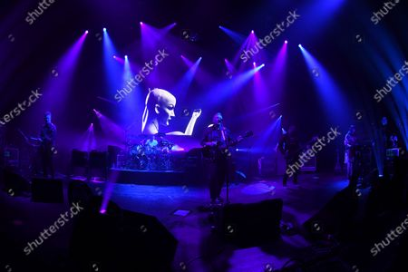 Editorial photo of New Order in concert at The Fillmore, Miami Beach, USA - 15 Jan 2020