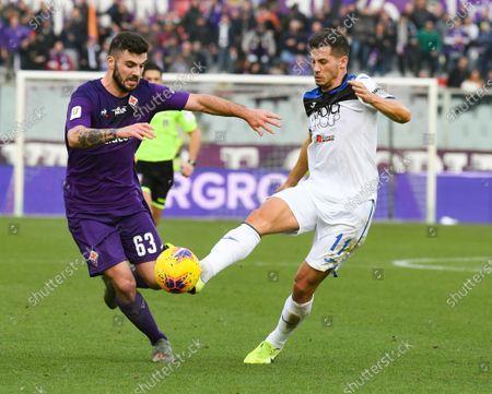 Editorial photo of Fiorentina v Atalanta, Coppa Italia, Football, Artemio Franchi Stadium, Florence, Italy - 15 Jan 2020