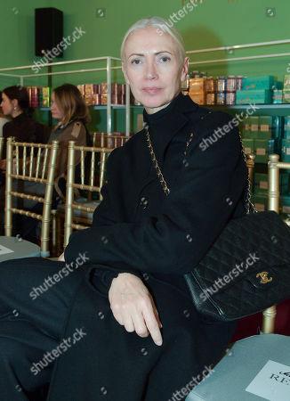 Editorial image of Van Laack by Wolfgang Joop show, Front Row, Mercedes-Benz Fashion Week, Berlin, Germany - 14 Jan 2020