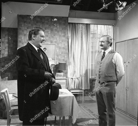 Thorley Walters and Ronald Fraser as Basil Allenby-Johnson