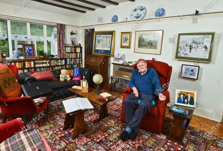 Sir Bernard Ingham 'My Haven' in his Sitting Room