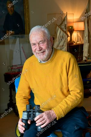 Editorial picture of Sir Robin Knox-Johnston photoshoot, Portsmouth, UK - 17 Dec 2018