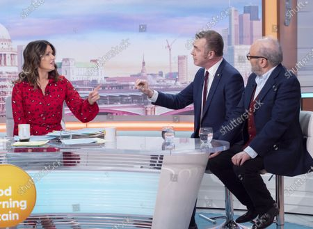 Susanna Reid, Adam Price and George Galloway