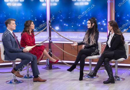 Ben Shephard, Susanna Reid, Paige McMahon and Stephanie McMahon-Levesque