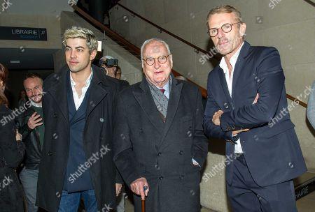 Julien Landais, James Ivory and Lambert Wilson