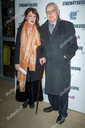 Madeleine Potter and James Ivory
