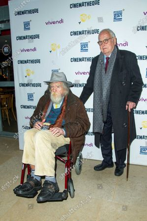 Michael Lonsdale and James Ivory