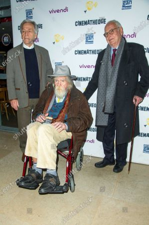 Guest with Michael Lonsdale and James Ivory
