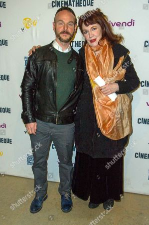 Chris Terrio and Madeleine Potter