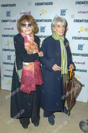 Nadine Trintignant and LiLou Marquand