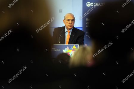 General Secretary of OECD (Organization for Economic Co-operation and Development) Mexican Jose Angel Gurria during a ministerial meeting and forum on migration and integration t OECD headquarters, in Paris, France, 16 January 2020. The meeting is focused on lessons from global migration over the past decade and to prepare for the future.