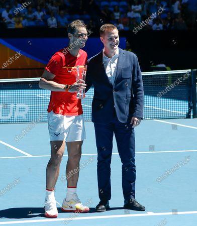 Editorial image of ATP Cup tennis tournament, Perth, Australia - 08 Jan 2020