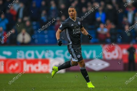 19th January 2020, Turf Moor, Burnley, England; Premier League, Burnley v Leicester City : Youri Tielemans (8) of Leicester City during the gameCredit: Craig Milner/News Images