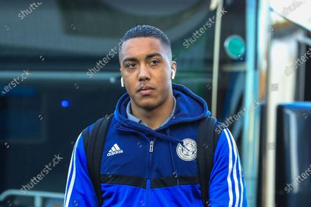 19th January 2020, Turf Moor, Burnley, England; Premier League, Burnley v Leicester City : Youri Tielemans (8) of Leicester City arrives at Turf Moor Credit: Mark Cosgrove/News Images
