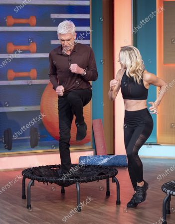 Phillip Schofield and Simone De La Rue