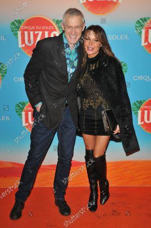 Jeremy Vine and Lizzie Cundy
