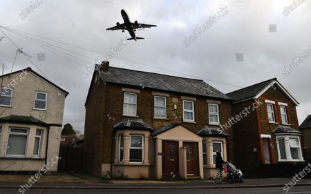 Editorial image of IAG files complaint to EU over UK's bail-out plan for regional carrier Flybe, London, United Kingdom - 16 Jan 2020