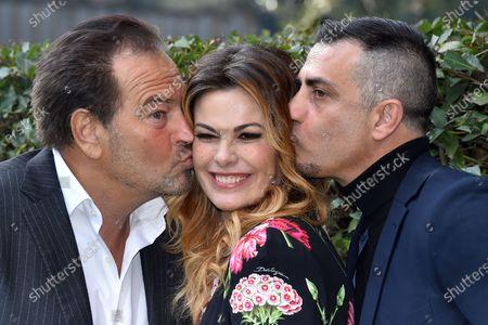 Sebastiano Somma, Vanessa Incontrada, Simone Montedoro