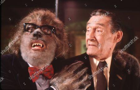 Roger Sloman as Club Secretary and John Carradine as R. Chetwynd-Hayes