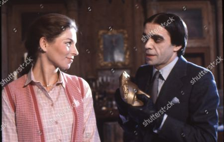 Barbara Kellerman as Angela and James Laurenson as Raven