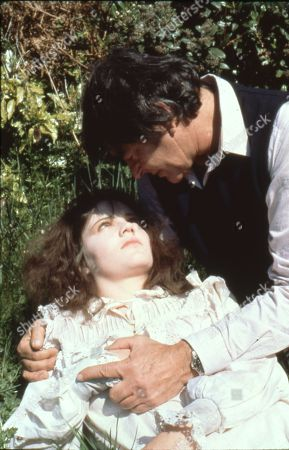 Lesley Dunlop as Luna and Stuart Whitman as Sam