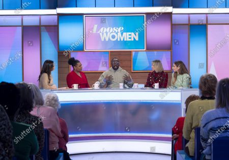 Editorial picture of 'Loose Women' TV show, London, UK - 16 Jan 2020