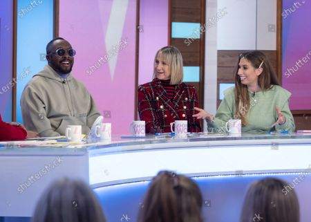 Will i am, Carol McGiffin and Stacey Solomon