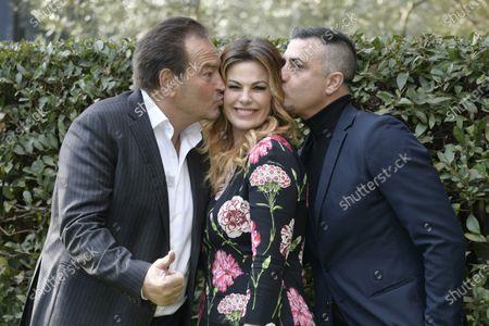 Sebastiano Somma, Vanessa Incontrada and Simone Montedoro