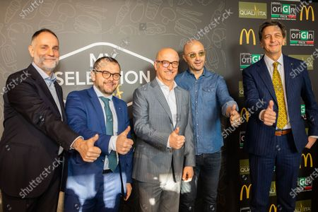 Editorial picture of Joe Bastianich presents 'My selection 2020' of McDonald's, Milan, Italy - 16 Jan 2020