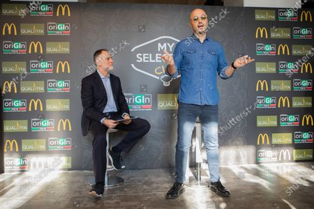 Editorial image of Joe Bastianich presents 'My selection 2020' of McDonald's, Milan, Italy - 16 Jan 2020