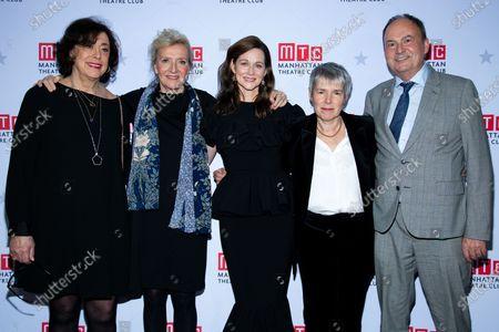 Lynne Meadow, Elizabeth Strout, Laura Linney, Rona Munro, Nick Starr