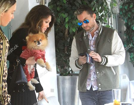 Lisa Vanderpump-Todd and Lance Bass