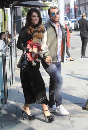 Editorial picture of Lance Bass and Lisa Vanderpump out and about, Los Angeles, USA - 15 Jan 2020