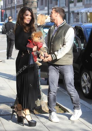 Editorial photo of Lance Bass and Lisa Vanderpump out and about, Los Angeles, USA - 15 Jan 2020