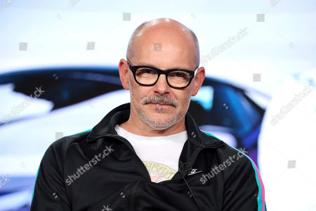 "Rob Corddry appears at the Motortrend's ""Top Gear America"" during the Discovery Network TCA 2020 Winter Press Tour at the Langham Huntington, in Pasadena, Calif"