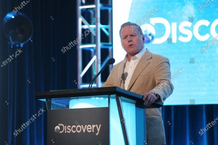 Stock Photo of President and CEO, Discovery David Zaslav