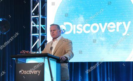 Stock Image of President and CEO, Discovery David Zaslav