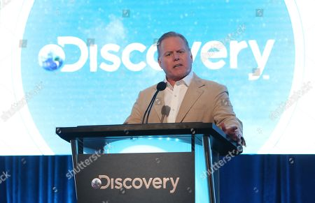 Stock Picture of President and CEO, Discovery David Zaslav