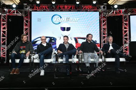 Dax Shepard, Rob Corddry, Jethro Bovingdon, Mike Suggett and Travis Shakespeare